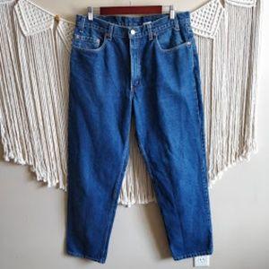 Levi's 550 Vintage Men's Relaxed Fit Blue Jeans 36